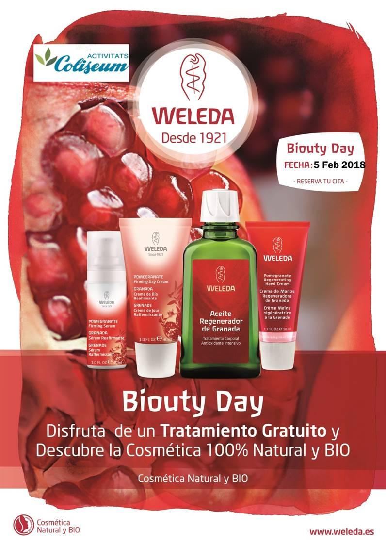 CANCELADO! Apuesta por lo Natural también para tu piel. Tratamiento express facial de 30 min. WELEDA cosmética natural