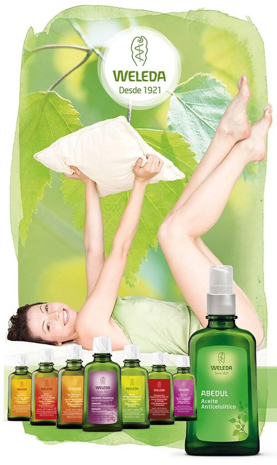 Prepara tu piel para el verano con cosméticos Weleda