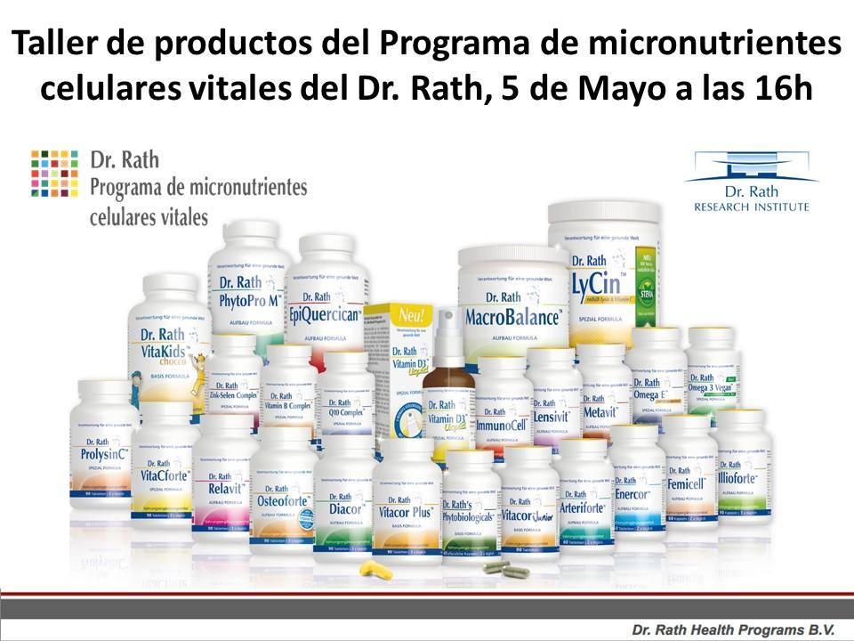 Taller de productos del Dr. Rath Health Programs