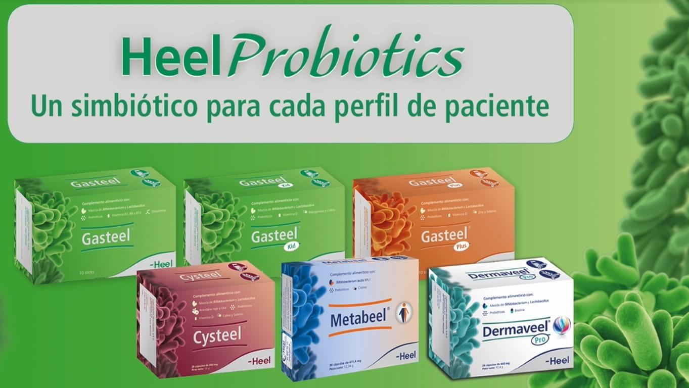 Microbiota y salud. Heelprobiotics