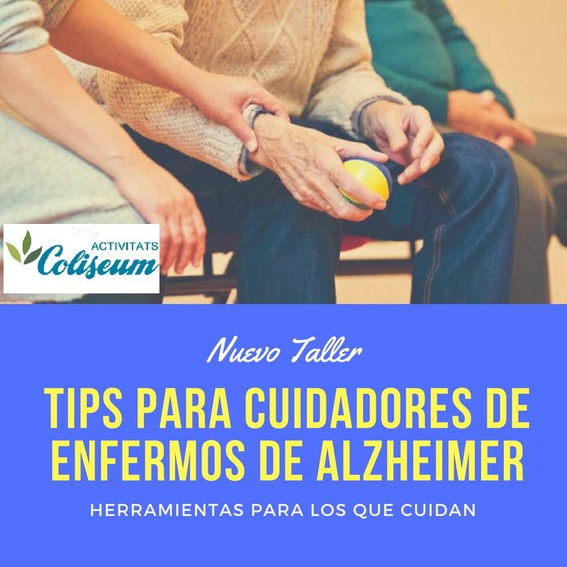 Alzheimer: Herramientas para los que cuidan