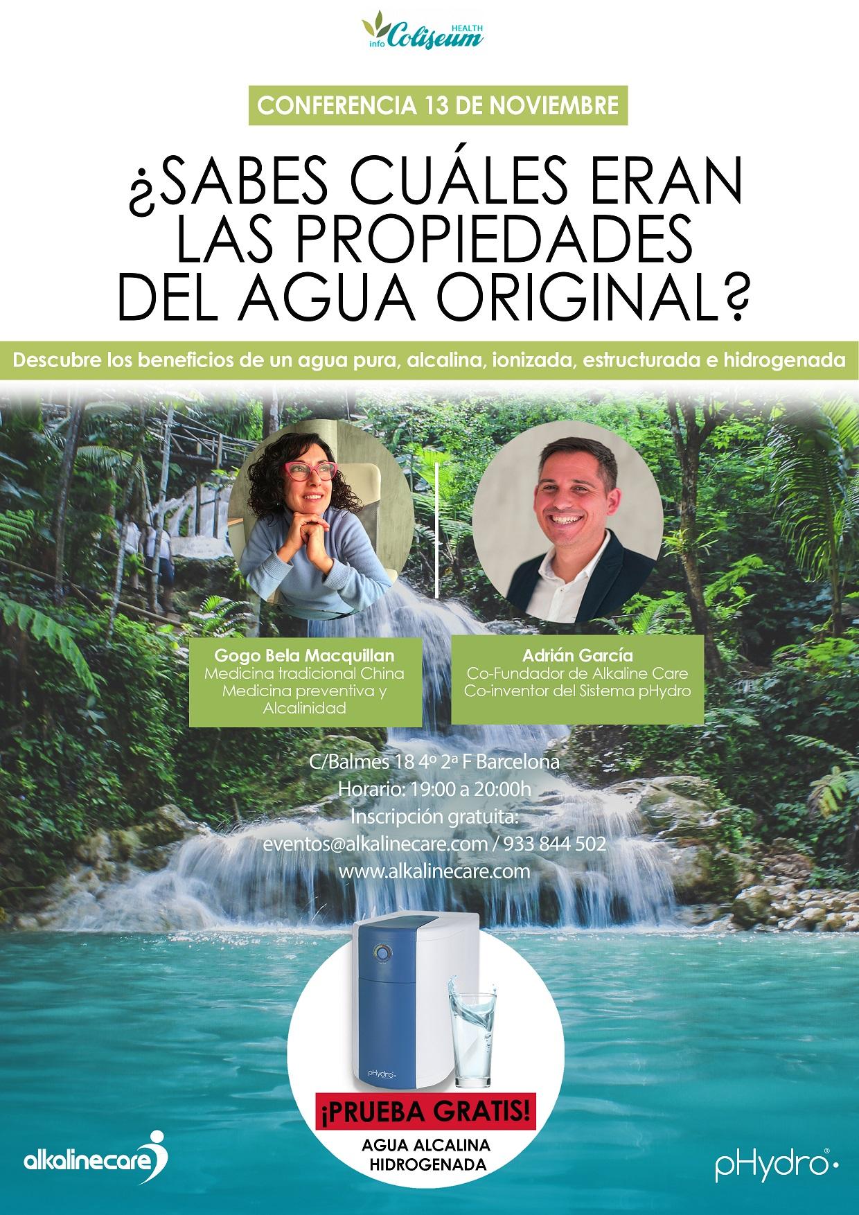¿Sabes cuáles eran las propiedades del agua original? Descubre los beneficios
