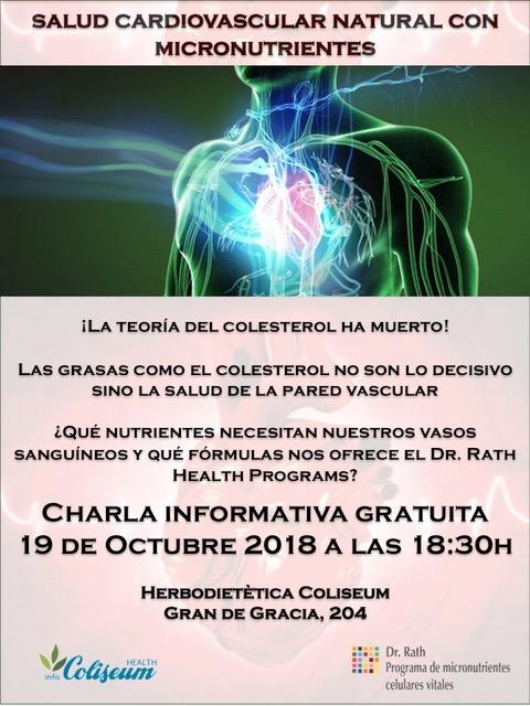 APLAZADO!!! Salud cardiovascular natural con micronutrientes