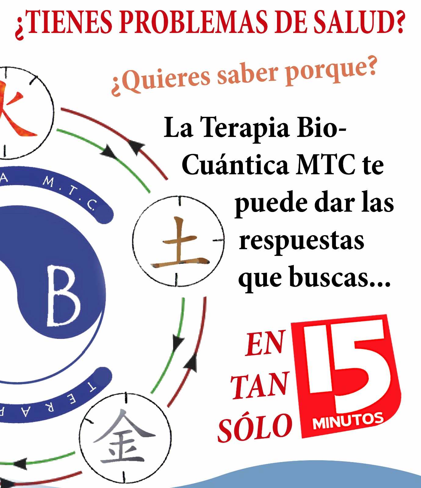 Demostraciones personalizadas de la Terapia Bio-Cuántica - MTC