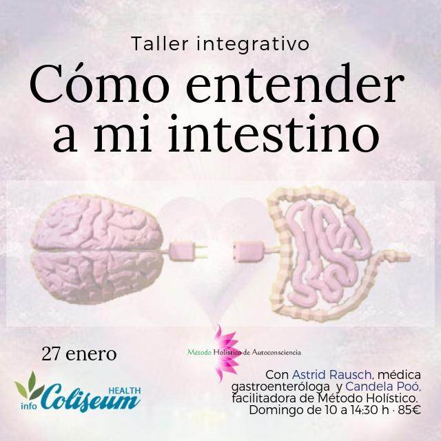 ANULADO!!! Taller práctico: Cómo entender a mi intestino.