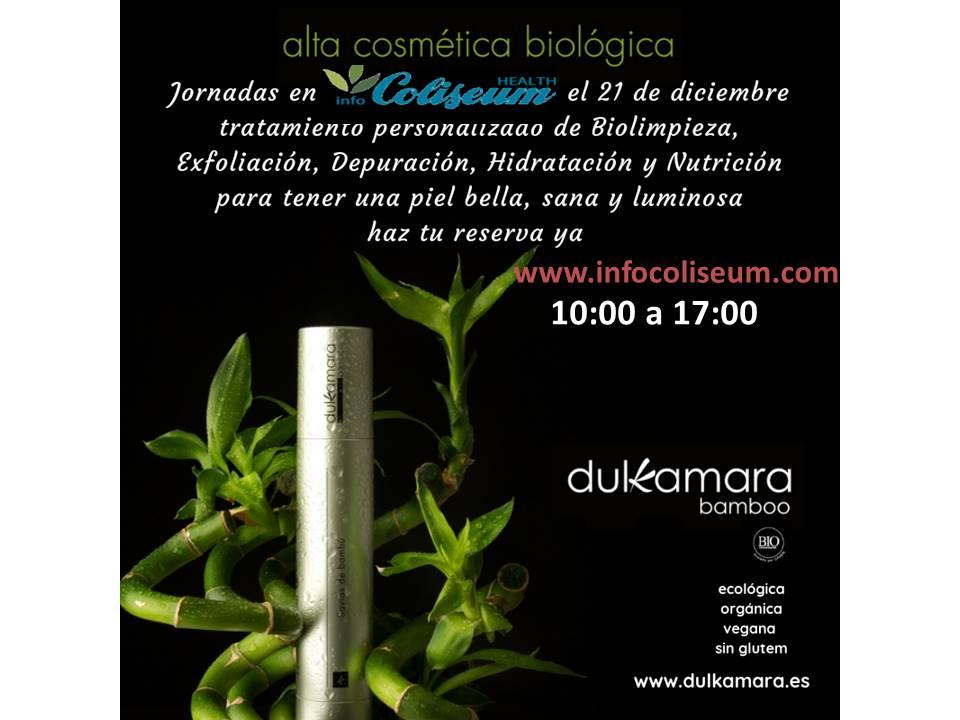 Cosméticos faciales Dulkamara Bamboo: Demostraciones de 45 minutos