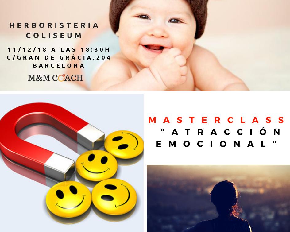 Atracción Emocional. Masterclass gratuita.