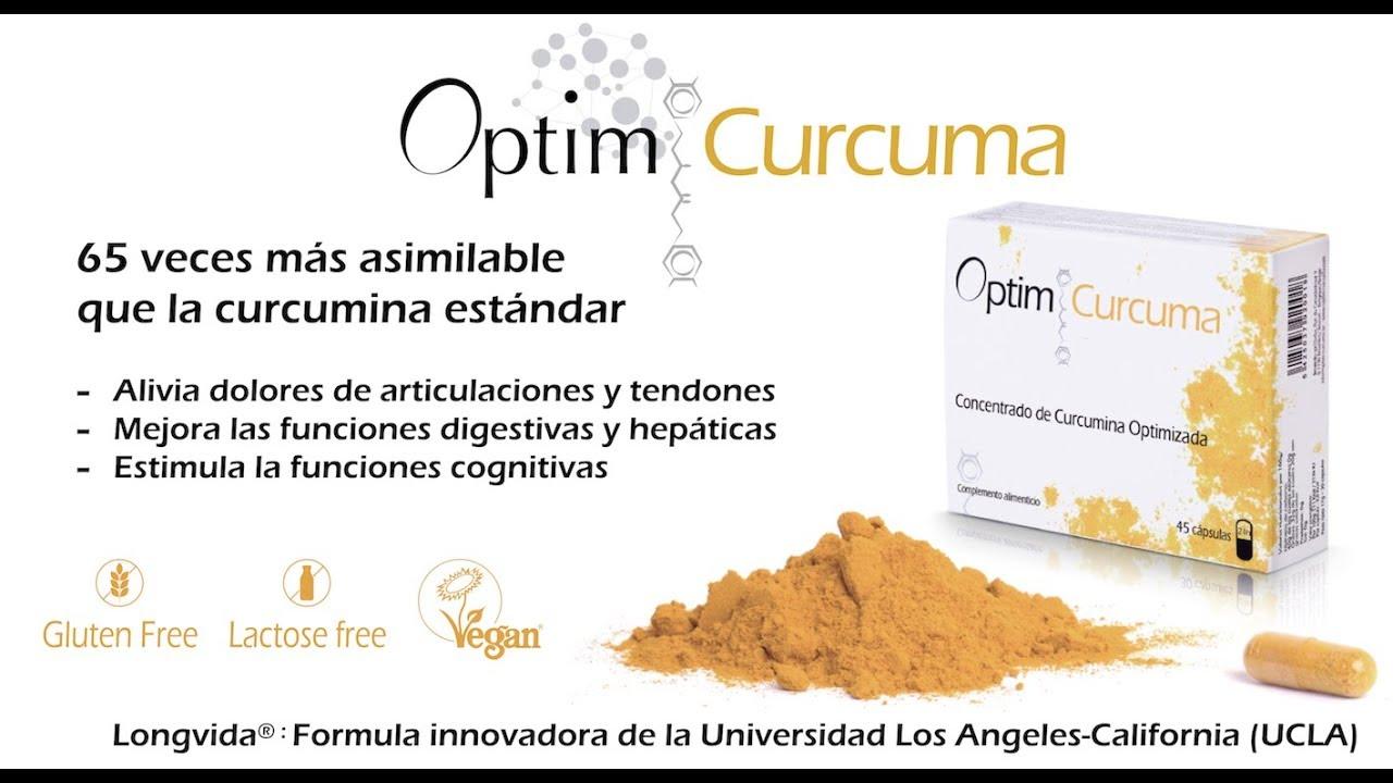 Curcumina: Acciones fisiológicas en procesos inflamatorios.