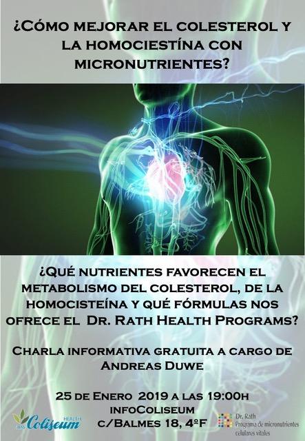 ¿Cómo mejorar el colesterol y la homocisteína con micronutrientes?