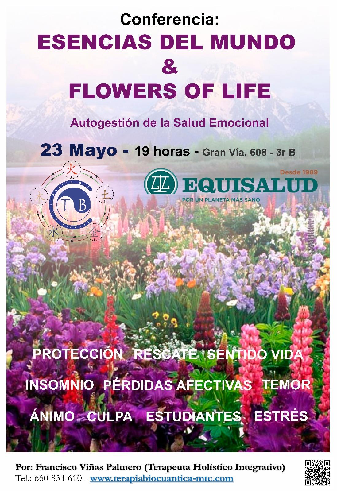 Esencias del mundo y flowers of life
