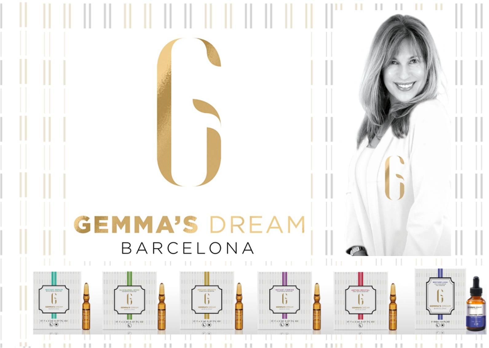"""""""No puc evitar el pas del temps però sí que la teva pell no ho noti"""" Cosméticos GEMMA'S DREAM Barcelona"""