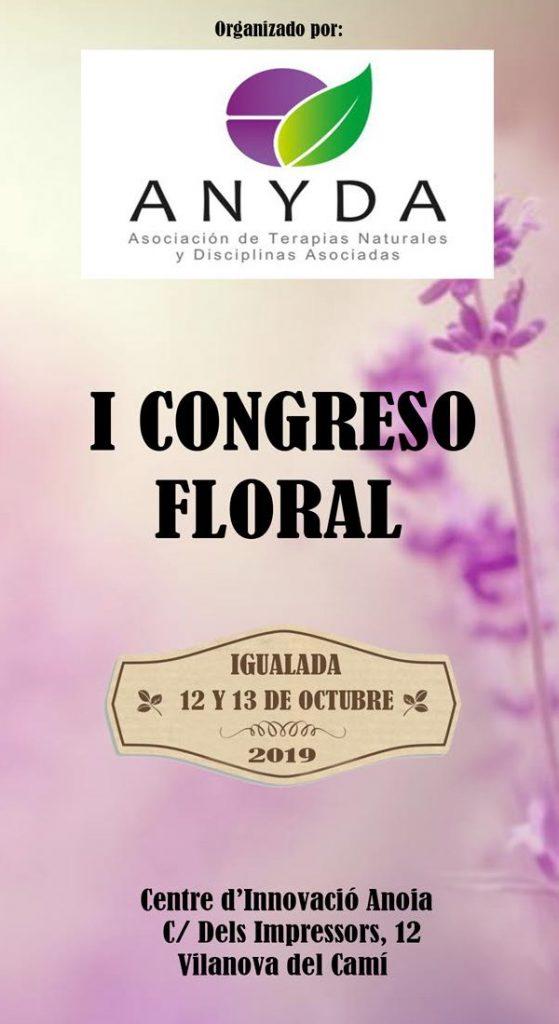1r Congrés Floral ANYDA: Igualada 12 i 13 d'octubre 2019