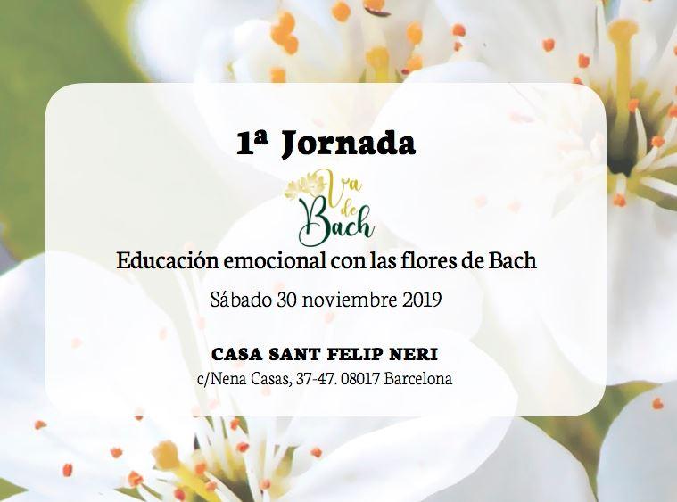 1ª JORNADA VADEBACH: Educación Emocional con las Flores de Bach