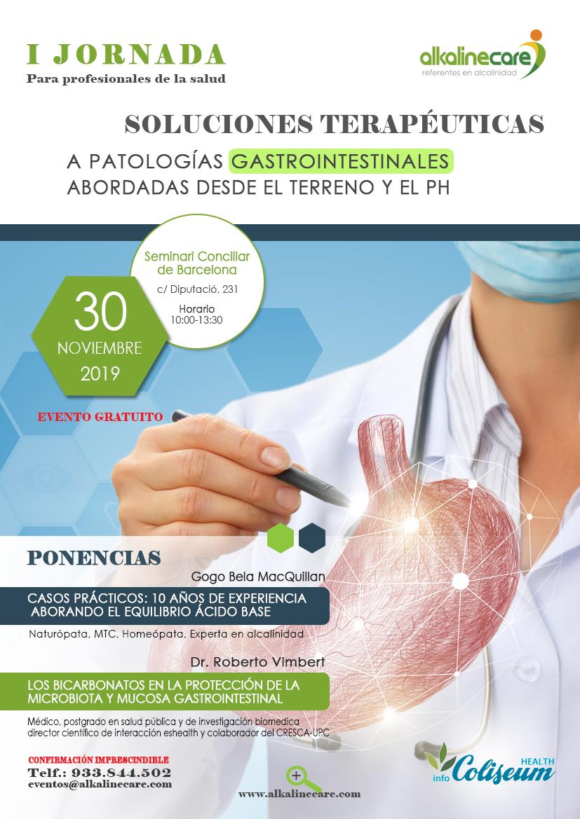 Soluciones terapéuticas a patologías gastrointestinales abordadas desde el terreno y el pH