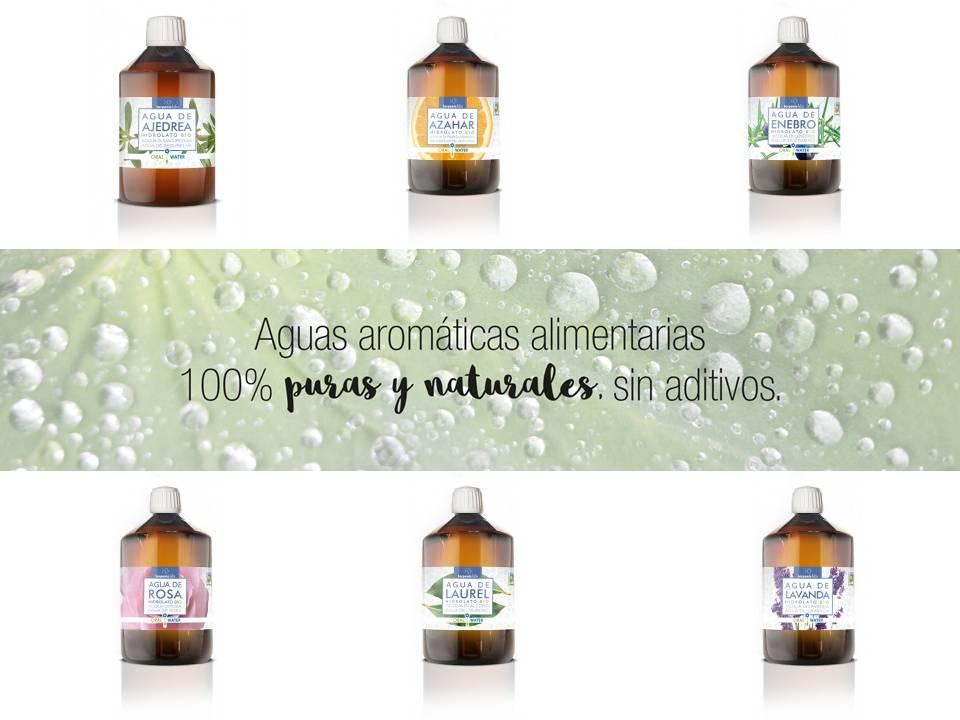 Hidrolatos: la aromaterapia del agua. Terpenic Labs.