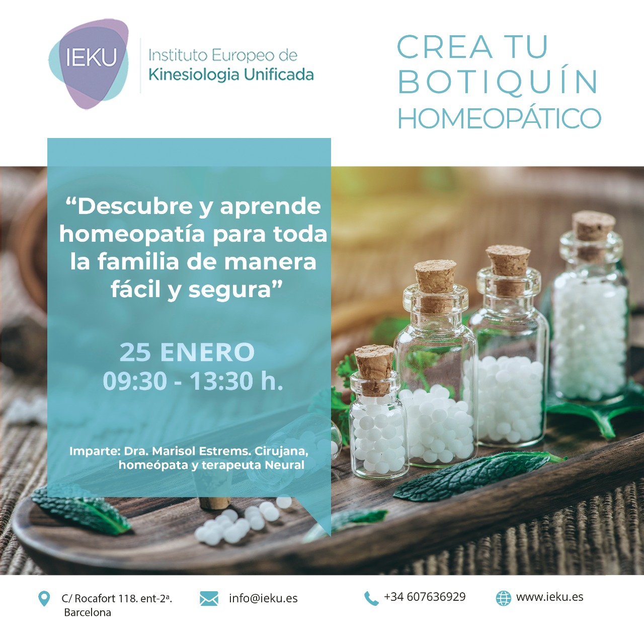 Crea tu botiquín homeopático