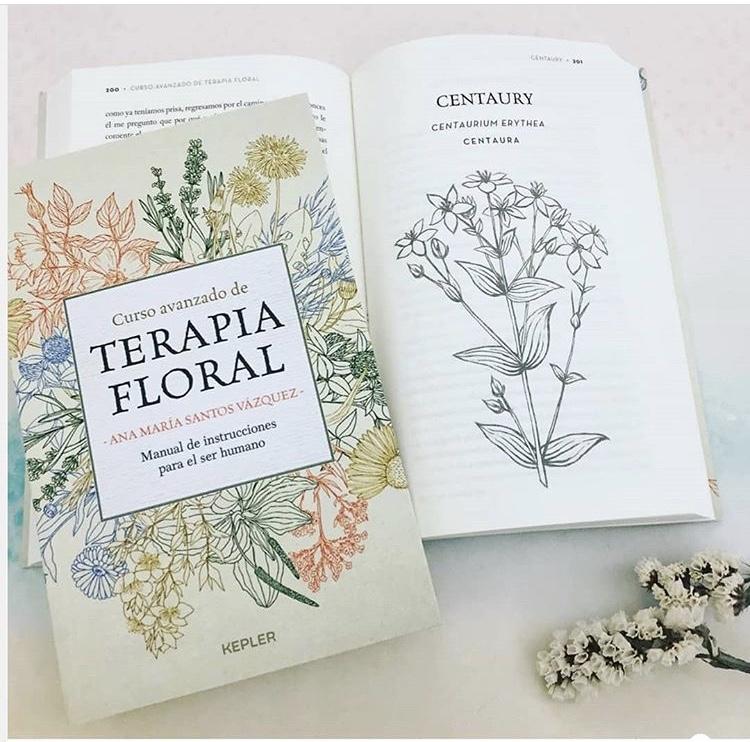 Presentación Libro: Curso Avanzado de TERAPIA FLORAL. Manual de instrucciones para el ser humano. Ana María Santos