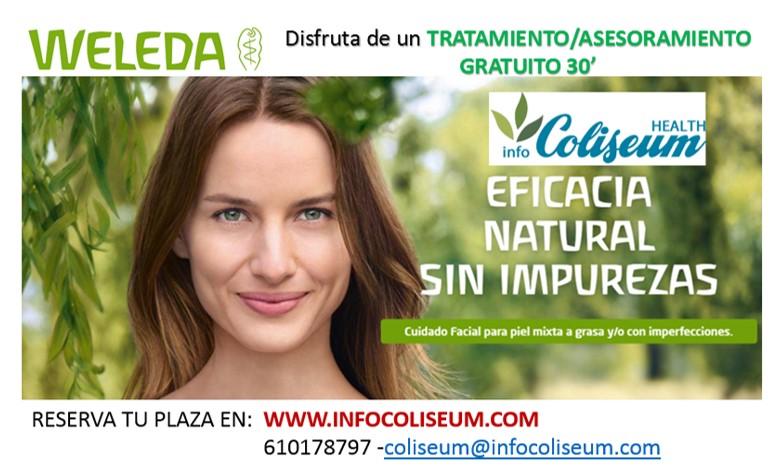 WELEDA cosmética natural: Conoce las Novedades en persona. Apuesta por lo Natural también para tu piel. Tratamiento express facial de 30 min.