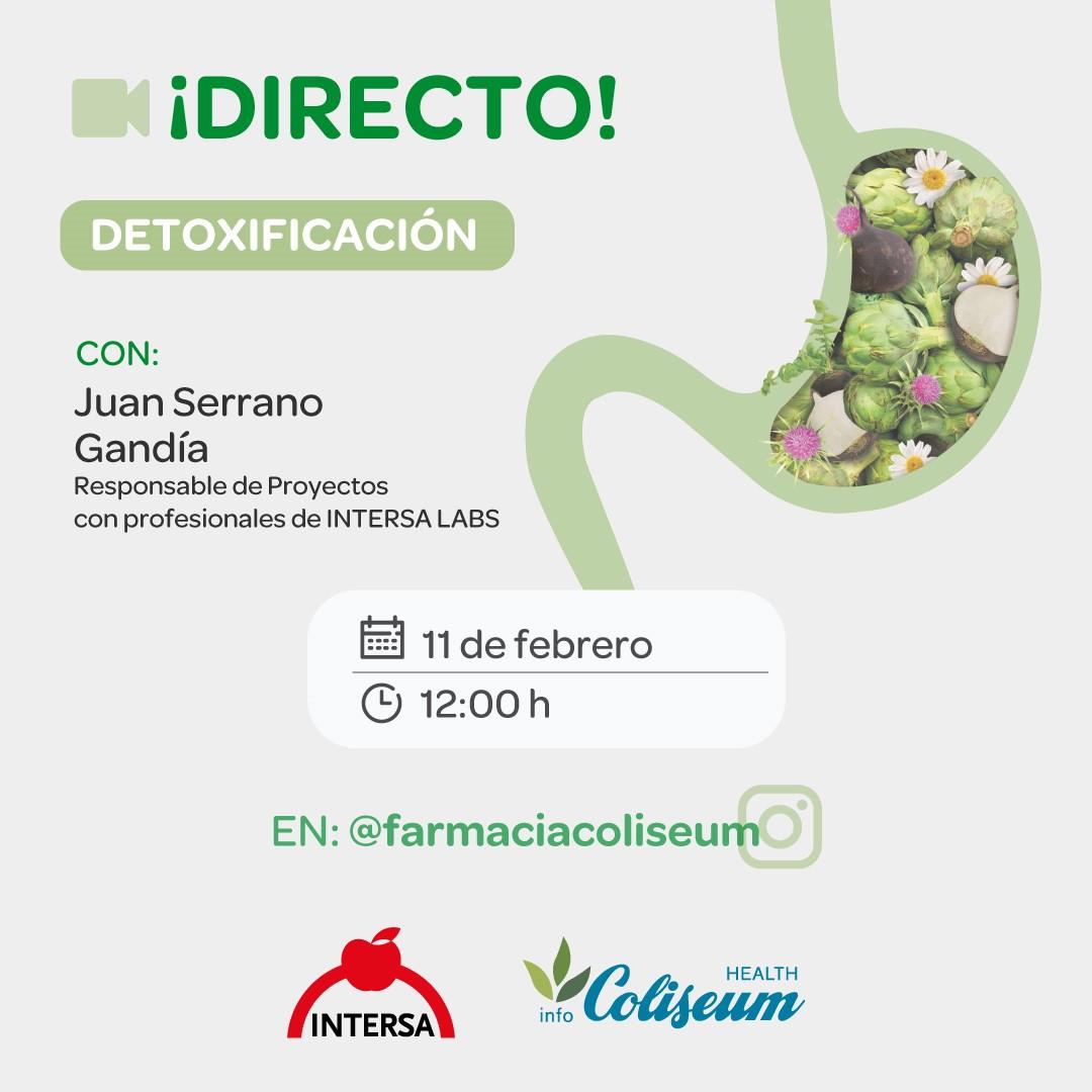 Directo Instagram: protocolo DETOX